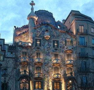 """Whether you consider yourself a scholar or more of an artist, transferrable skills can help you achieve your dreams! (Photo of Antoni Gaudi's """"Casa Batllo"""" in Barcelona, Spain. Photo credit: Jalisha Braxton)"""