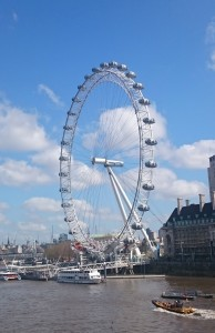 Studying abroad entails a lot more than just visiting famous landmarks like the London Eye (photo credit Jalisha Braxton)