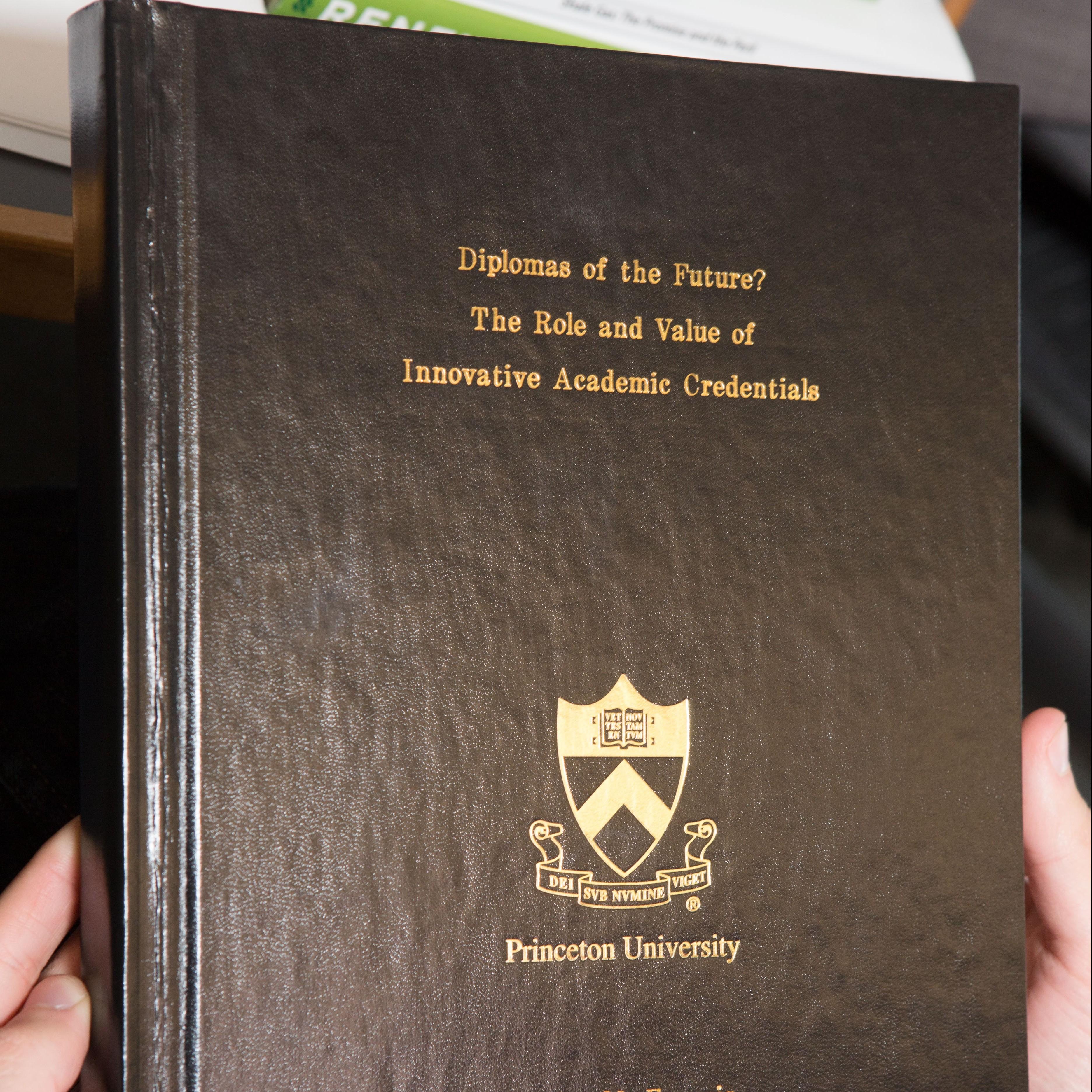 princeton university thesis
