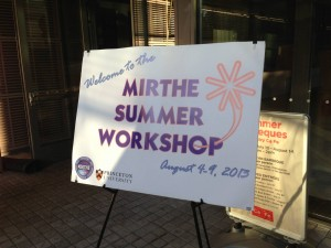 I conducted research with the MIRTHE program the summer after my freshman year.