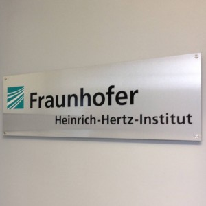 The placard that hung in the institute I worked at which I worked in Goslar, Germany.
