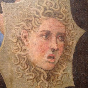 """""""What did you say about Woodrow Wilson?"""" (Detail of Minerva by Girolamo Genga)"""