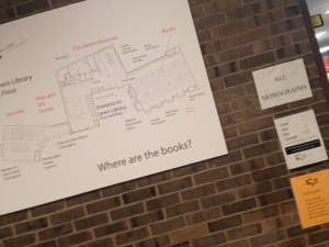 """Where are the books?"" you may well ask. The Lewis Library answers..."
