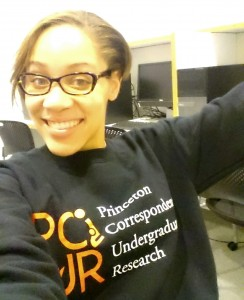 My PCUR sweater is my favorite thing to wear when I'm running thesis participants in the lab!