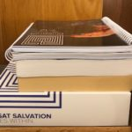 Stack of LSAT books