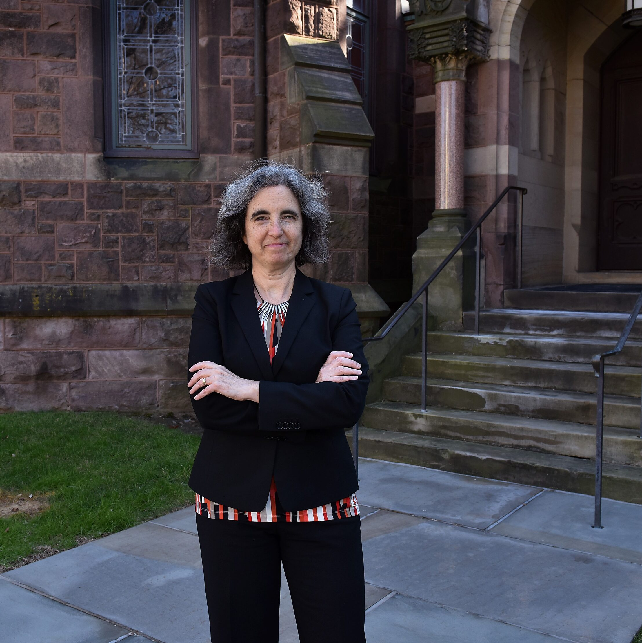 Alison Isenberg, Professor of History; Co-Director, Princeton-Mellon Initiative in Architecture, Urbanism, and the Humanities. Taken Feb 6, 2017.